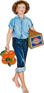 Ilustración del muchacho Le Gamin